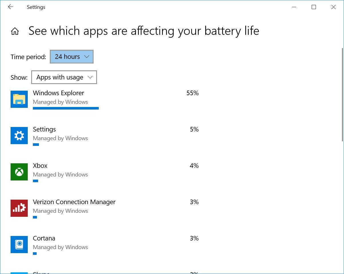 Close Specific Apps That Use Lots of Power