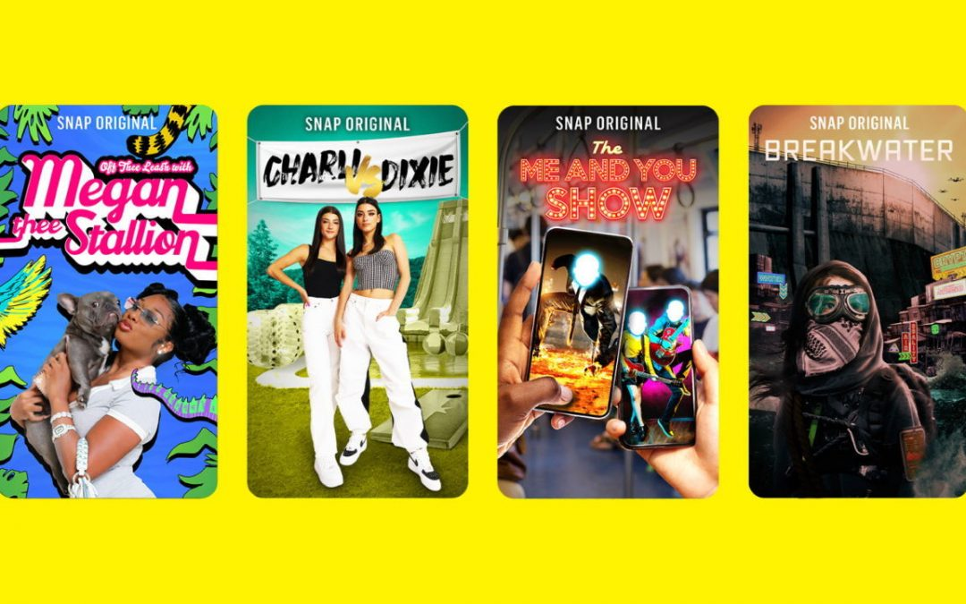 Snapchat Announces New Snap Originals and a Creator Marketplace