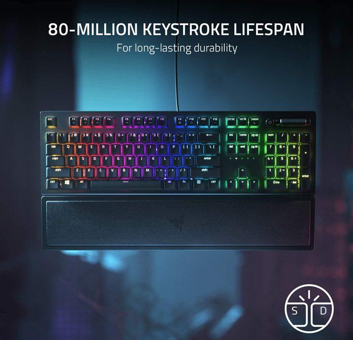 Razer BlackWidow V3 Mechanical Gaming Keyboard – Refurbished